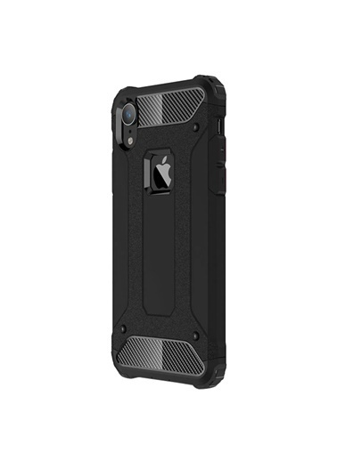 Microsonic iPhone XR (6.1'') Kılıf Rugged Ar  Siyah